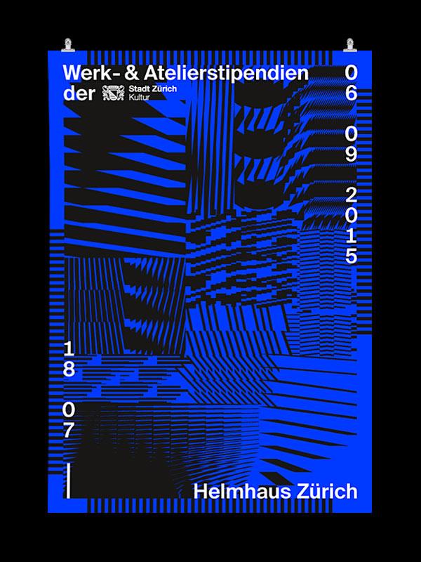 F4 Plakat, Siebdruck