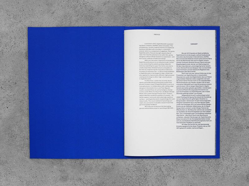 Saphirkeramik Katalog, Einleitung